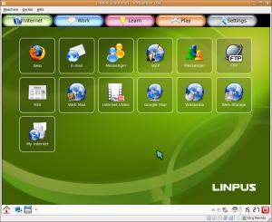 Linpus Linux Desktop